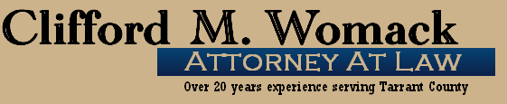 Law Office of Clifford Womack, Fort Worth Texas disability attorney
